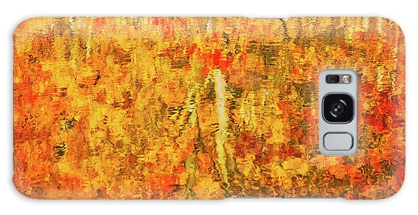 Galaxy Case featuring the photograph Reflections Of Fall by Rick Furmanek