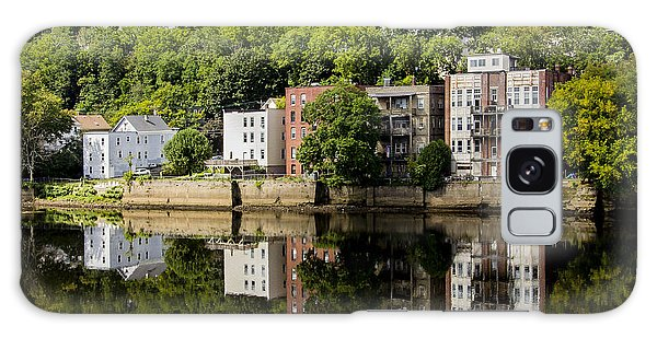 Reflections Of Haverhill On The Merrimack River Galaxy Case by Betty Denise