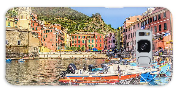 Reflections Of Italy Galaxy Case by Brent Durken