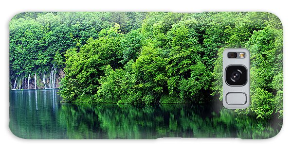 Reflections Of Plitvice, Plitvice Lakes National Park, Croatia Galaxy Case