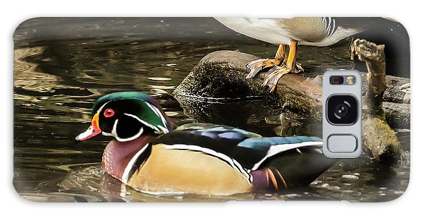 Reflections Of You And Me Wildlife Art By Kaylyn Franks Galaxy Case