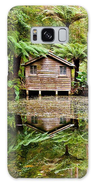 Shrub Galaxy Case - Reflections On The Pond by Az Jackson
