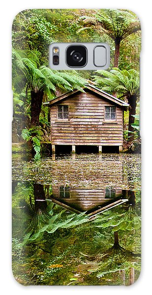 Shed Galaxy Case - Reflections On The Pond by Az Jackson