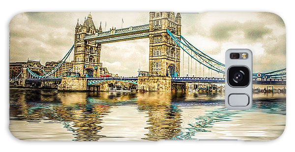 Reflections On Tower Bridge Galaxy Case