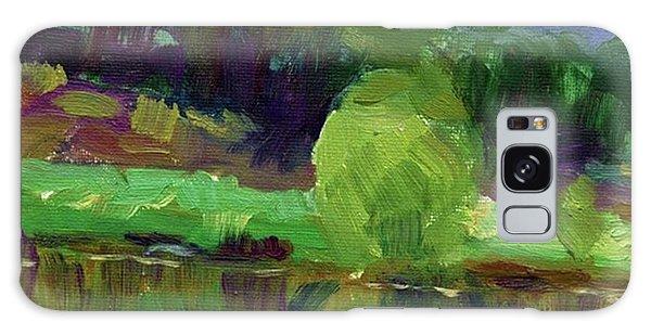 Colorful Galaxy Case - Reflections Painting Study By Svetlana by Svetlana Novikova