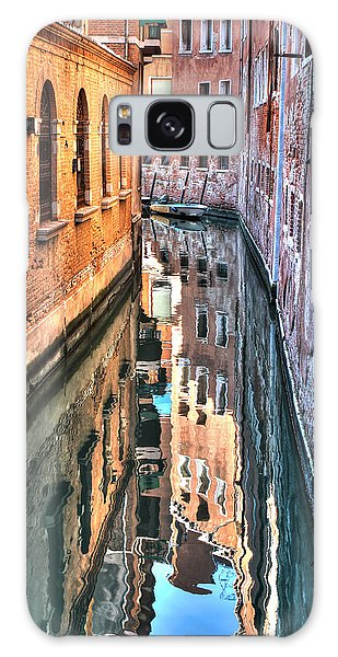 Reflections Venice Italy Galaxy Case