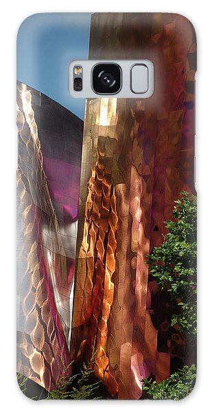 Reflective Buildings Galaxy Case