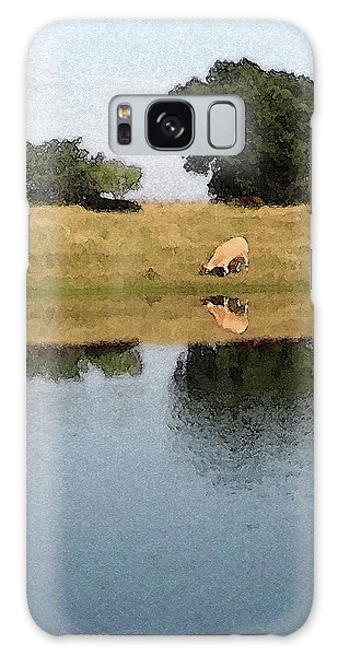 Reflective Cow Galaxy Case