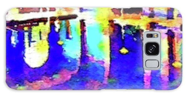 Reflective Pool Hearst Castle Galaxy Case