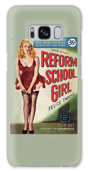 Reform School Girl Galaxy Case