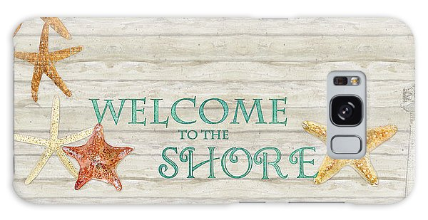 Board Walk Galaxy Case - Refreshing Shores - Welcome To The Shore Lighthouse by Audrey Jeanne Roberts