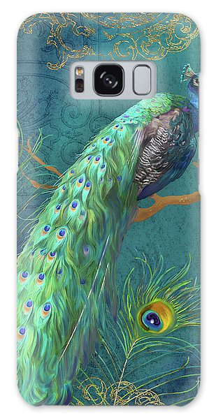Regal Peacock 3 Midnight Galaxy Case