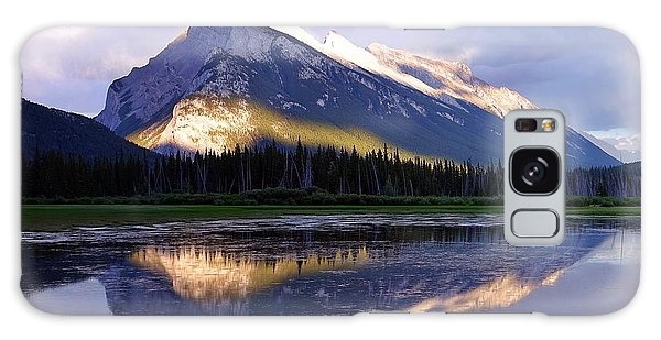 Mount Rundle Galaxy Case