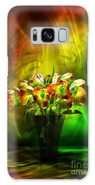 Reggae Tulips Galaxy Case by Johnny Hildingsson