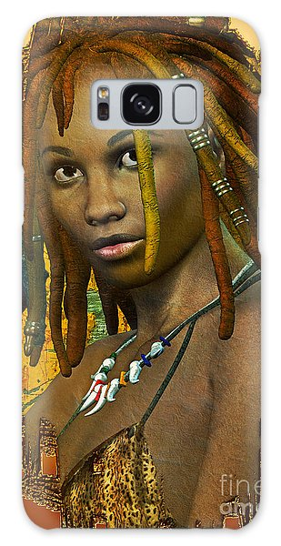 Reggae Woman Galaxy Case