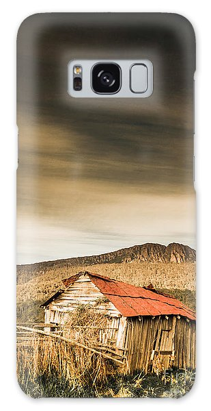 Shed Galaxy Case - Regional Ranch Ruins by Jorgo Photography - Wall Art Gallery