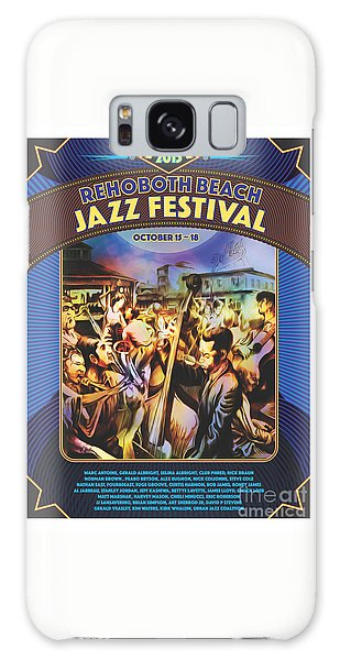Rehoboth Beach Jazz Fest 2015 Galaxy Case