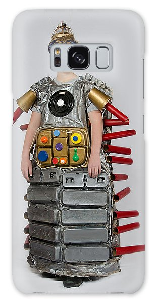 Paper Dress Galaxy Case - Reilly In Frank The Amazing Bugatron 2000 by Irina Archangelskaya