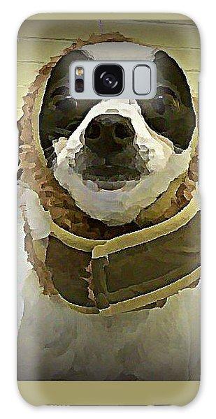 Galaxy Case - Reindeer Dog by Raven Hannah