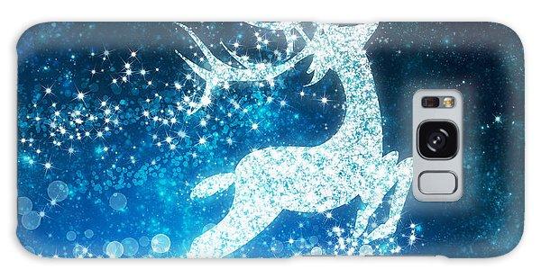 Reindeer Stars Galaxy Case by Setsiri Silapasuwanchai