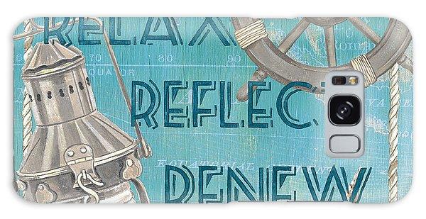 Bright Sun Galaxy Case - Relax Reflect Renew by Debbie DeWitt