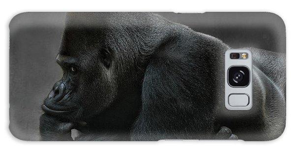 Gorilla Galaxy S8 Case - Relaxed Silverback by Joachim G Pinkawa