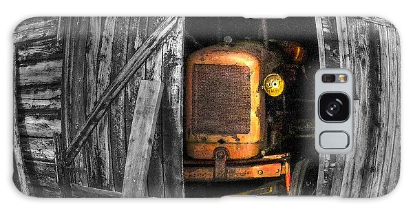 Galaxy Case featuring the photograph Relic From Past Times by Heiko Koehrer-Wagner