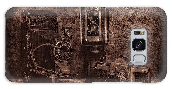Relics Galaxy Case by Mark Fuller