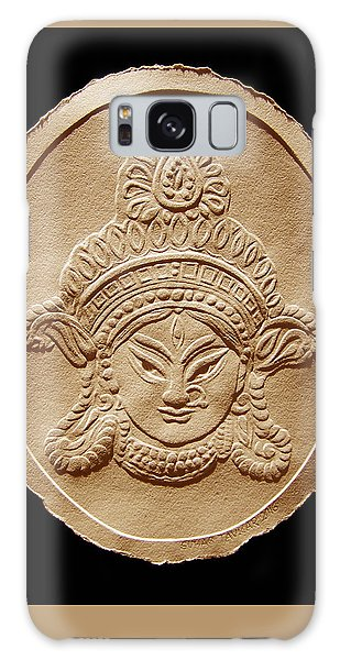 Relief Drawing Of Goddess Durga Devi  Galaxy Case