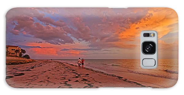 Remains Of The Day Galaxy Case by HH Photography of Florida