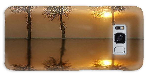 Remains Of The Day Galaxy Case by Jacky Gerritsen