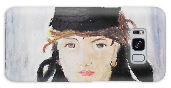 Remake Portrait Of Berthe Morisot Galaxy Case