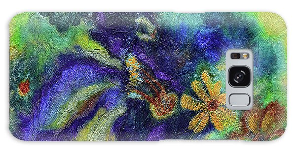 Remember The Flowers Galaxy Case by Donna Blackhall