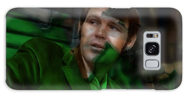 Galaxy Case featuring the mixed media Remembering Glen Campbell by Marvin Blaine