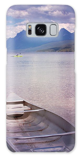 Galaxy Case featuring the photograph Remembering Lake Mcdonald by Heidi Hermes