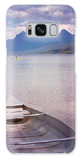 Remembering Lake Mcdonald Galaxy Case by Heidi Hermes