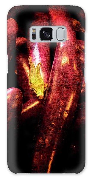 Renaissance Chinese Eggplant Galaxy Case