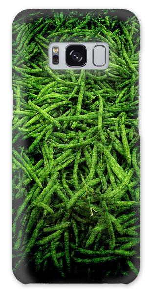Renaissance Green Beans Galaxy Case