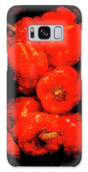 Renaissance Red Peppers Galaxy Case