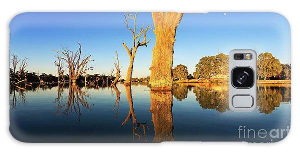 Renamrk Murray River South Australia Galaxy Case by Bill Robinson