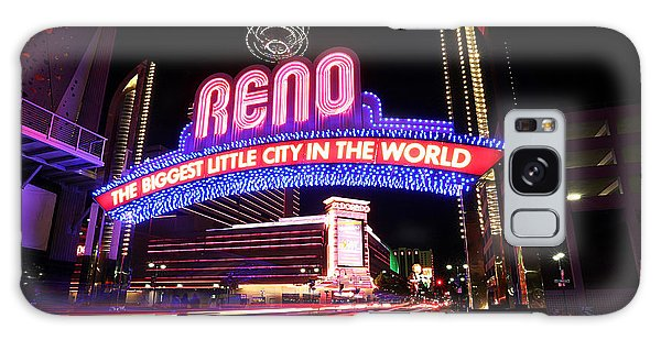 Reno - The Biggest Little City In The World Galaxy Case by Shawn Everhart