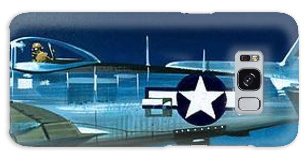 Airplane Galaxy S8 Case - Republic P-47n Thunderbolt by Wilf Hardy