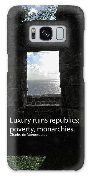 Republics And Monarchies Galaxy Case by Ian  MacDonald