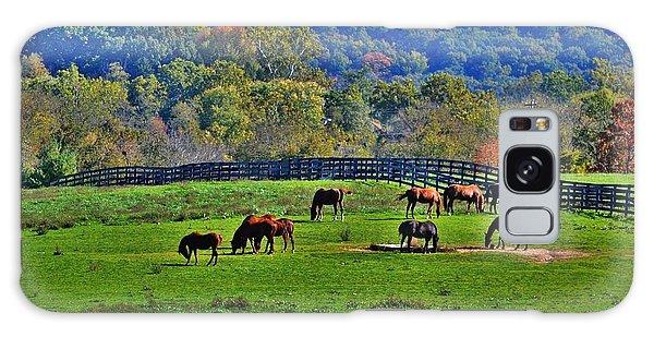 Rescue Horses Galaxy Case
