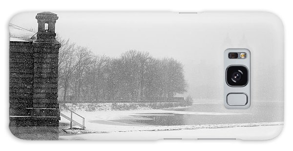 Galaxy Case featuring the photograph Reservoir Snow Central Park by Dave Beckerman