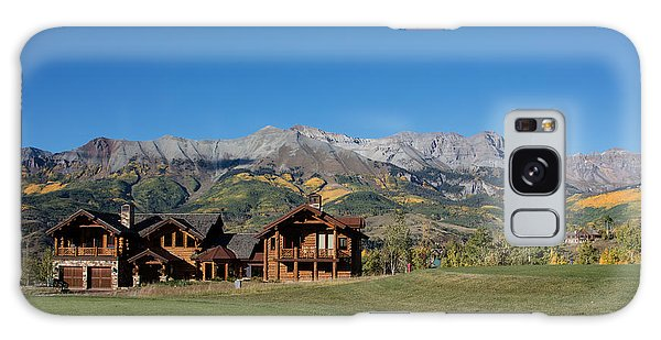 Residences In Mountain Village -- A Planned Community Adjacent To Telluride Galaxy Case by Carol M Highsmith