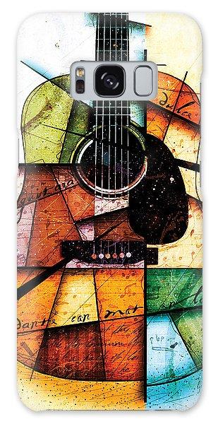 Guitar Galaxy S8 Case - Resonancia En Colores by Gary Bodnar