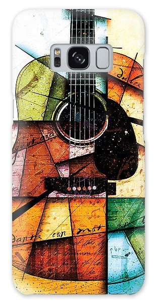 Guitar Galaxy Case - Resonancia En Colores by Gary Bodnar