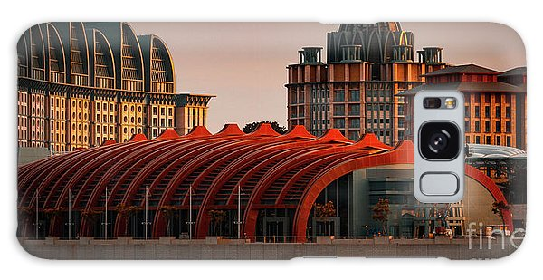 Galaxy Case featuring the photograph Resort World Sentosa by Ray Shiu