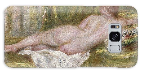 Female Galaxy Case - Rest After The Bath by Pierre Auguste Renoir